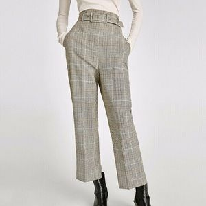 Rare Zara checkered trouser